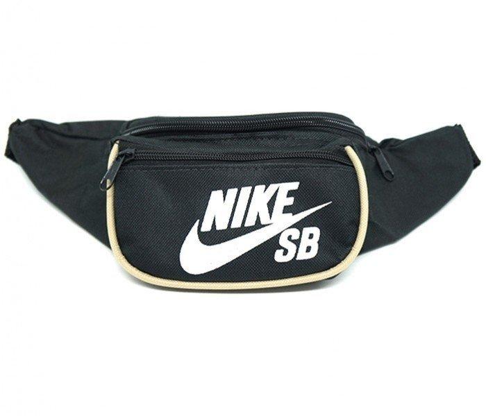 d81045fa96ec4c Pochete Nike Preta e Bege