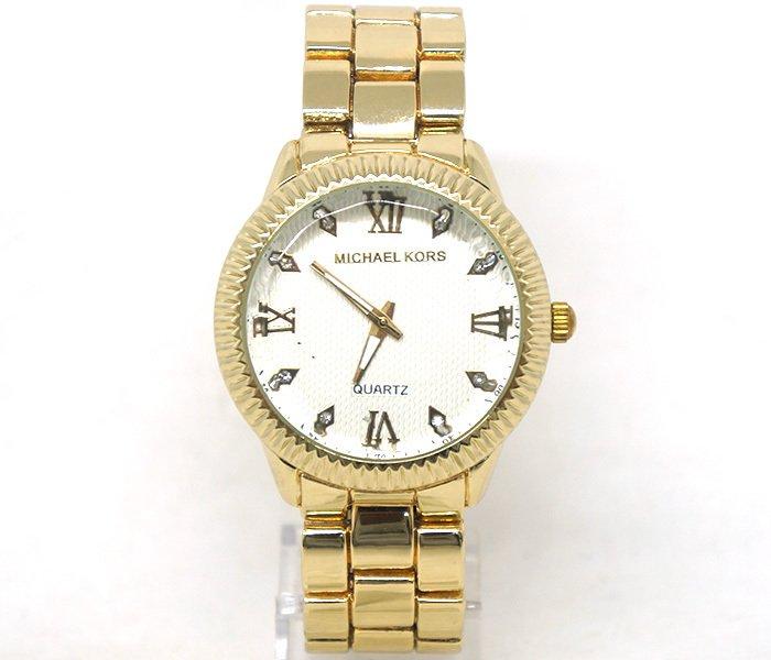 45ebdba86b0 Relógio Feminino Michael Kors Dourado. 42% OFF