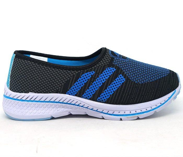 ad2c11f9f3 Tênis Feminino Adidas Slip Run Preto e Azul