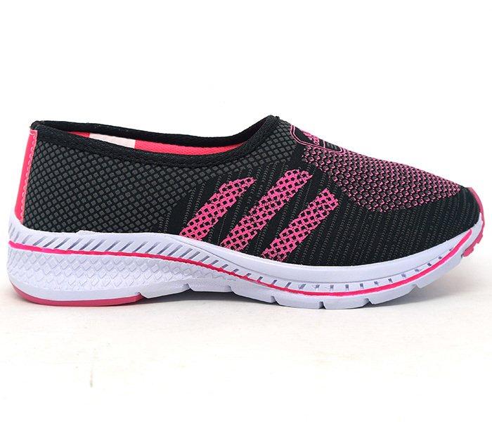 619d33e8954 Tênis Feminino Adidas Slip Run Preto e Rosa