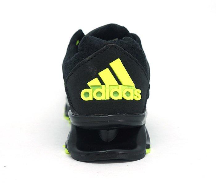 67b8eb5178 Tênis Adidas Springblade Drive Preto e Verde Limão