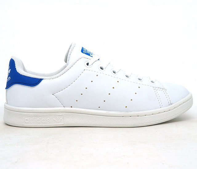 0d45d2aaf15 Tênis Adidas Stan Smith Branco e Azul
