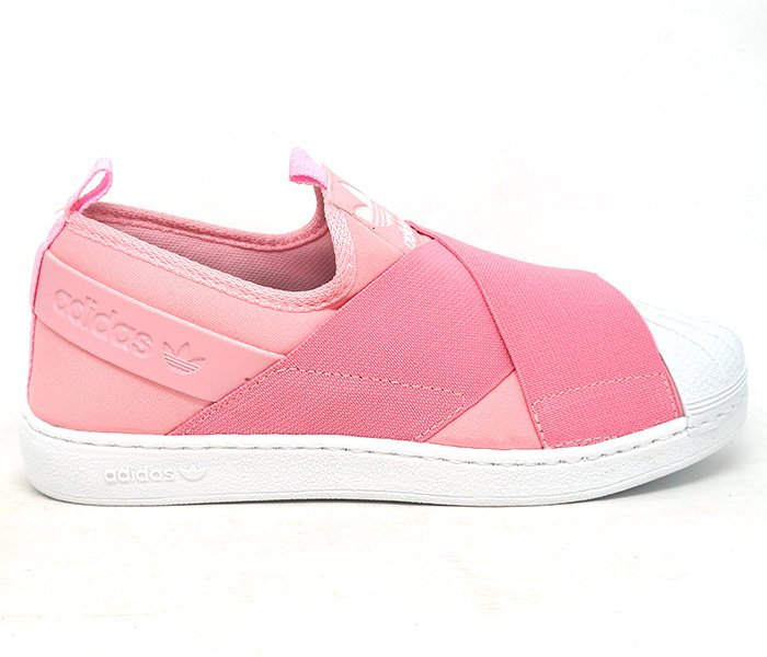 a6b398dab2e Tênis Adidas Superstar Slip-On Rosa