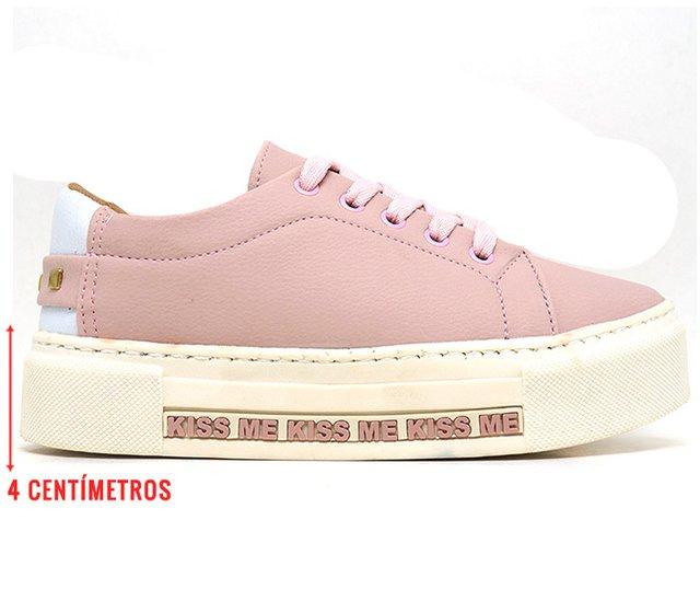 Tênis Feminino GoldStar Plataforma Rosê 1fcd2e320e3