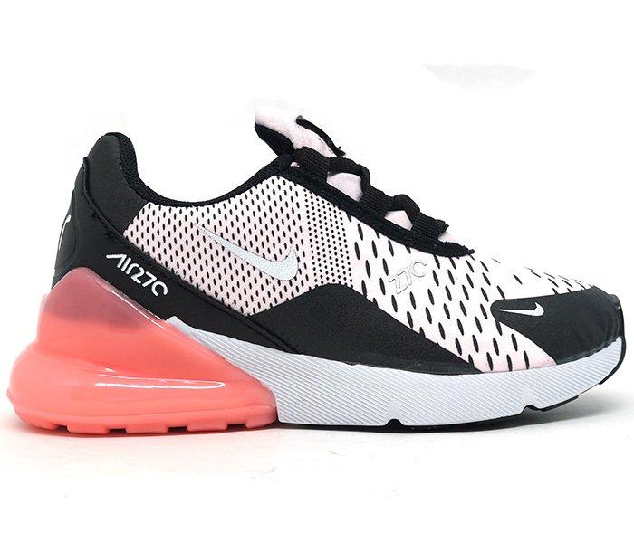size 40 9433b 85009 Tênis Infantil Nike Air Max 270 Rosa e Preto