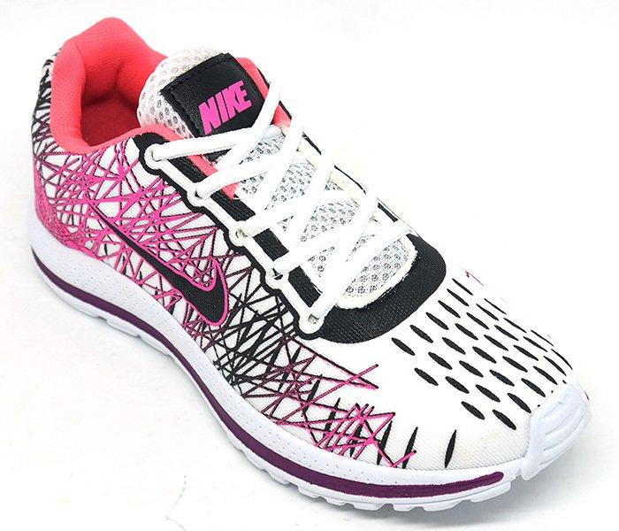 0f15f7cc94d Tênis Feminino Nike Air Zoom Vomero 13 Rosa e Branco