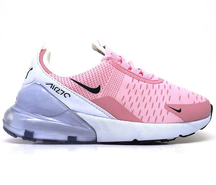 8ed6299c62 Tênis Feminino Nike Air Max 270 Rosa e Branco