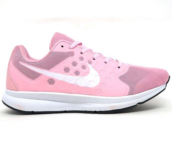 0475ba56b Tênis Feminino Nike Running Rosa e Branco