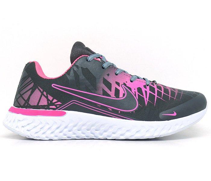 d1fceabe3c6 Tênis Feminino Nike Air Turno Cinza e Pink