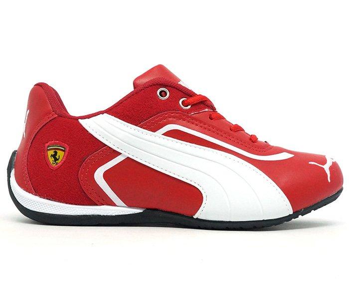 13720241179a9 Tênis Puma Ferrari New Vermelho e Branco