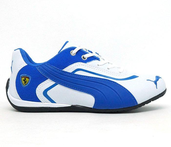 c1781f6e2aa Tênis Puma Ferrari New Branco e Azul