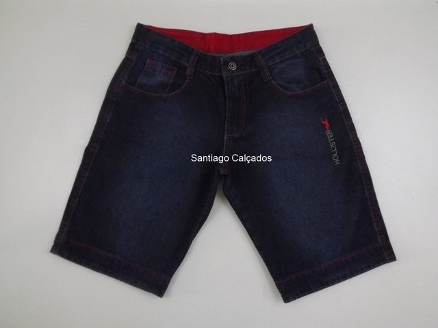 Imagem do Kit 6 bermudas Jeans masculinas Top!