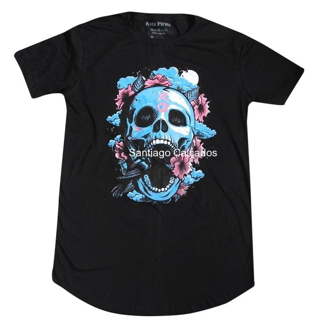 Camiseta Long line Lisa ou estampada!