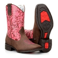 Bota Country Texana 574 Com Bordado - Ro...