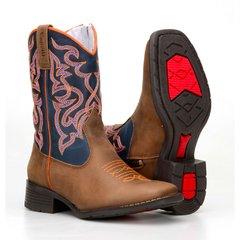 Bota Country Texana 55101 Com Bordado La...