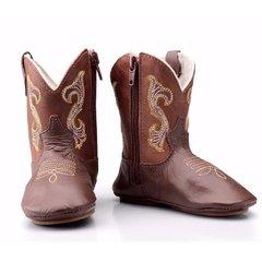 Bota Country Texana 050 Cano Alto - Caf...