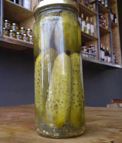 Pepinos Agridulces Condimentados