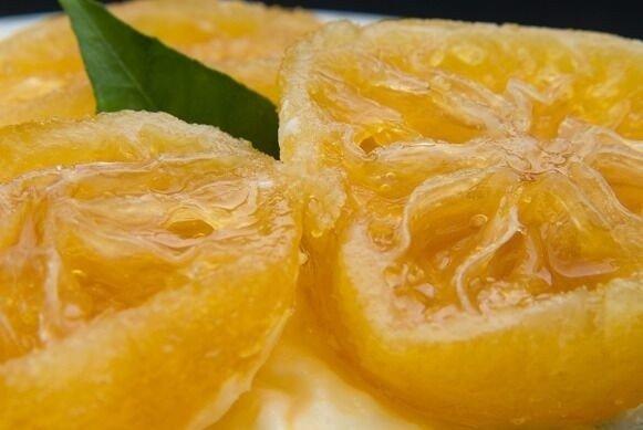 Naranjas en Almíbar