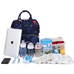 MOCHILA MATERNAL NIGHT BOTANIC + MOCHI LUNCHERA INFANTIL CORNELIA CAT en internet