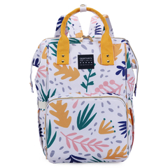 MOCHILA MATERNAL MINI PATTERNS + MOCHI LUNCHERA INFANTIL CORNELIA CAT