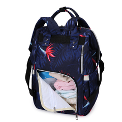 MOCHILA MATERNAL NIGHT BOTANIC + MOCHI LUNCHERA INFANTIL CORNELIA CAT