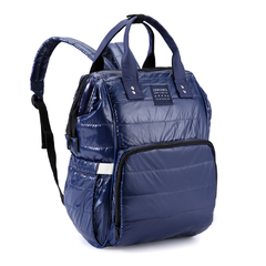MOCHILA MATERNAL JANE BLUE SPECIAL EDITION