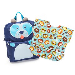 Mochi Lunchera Infantil a elección + Junior Bib a elección (Owls/Fire Engine/Raindrops/Urban Bird)