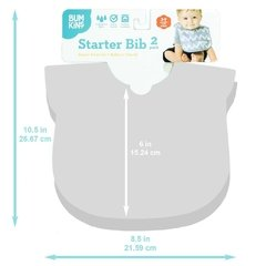 Starter Bib Raindrops & Umbrella  - Pack x 2 en internet