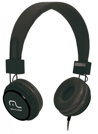 Fone De Ouvido Headphone Fun Preto - Ph115