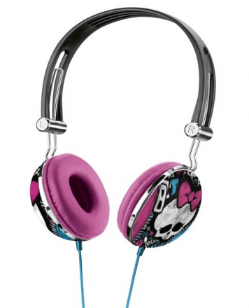 Fone De Ouvido Headphone Monster High Estampa - Multikids -