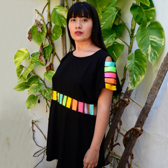 Vestido Whilpa Negro en internet