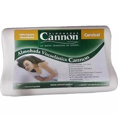 CANNON ALMOHADA VISCOELASTICA INTELIGENTE  CERVICAL - CAN41502 en internet