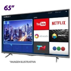 "TV SMART  NOBLEX LED 65"" ULTRA HD 4K DI65X6500"
