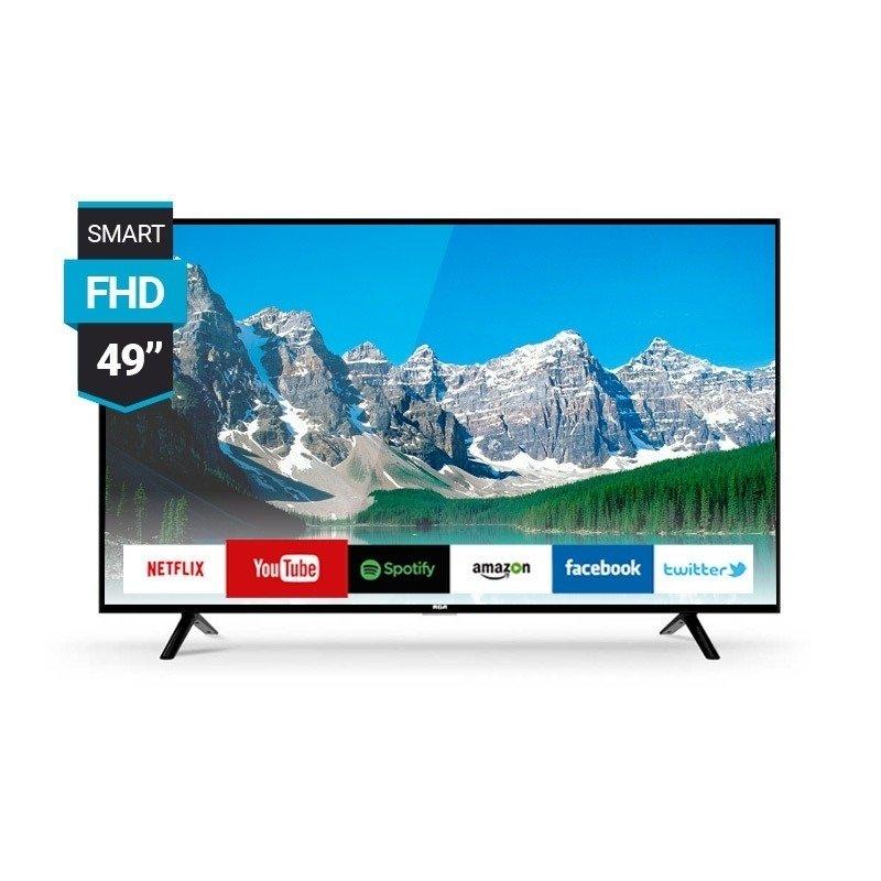 e905f674131 Smart Tv Rca 49 Full Hd Netflix L49nx Usb Hdmi