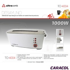 ULTRACOMB TOSTADORA TO 4004 - comprar online