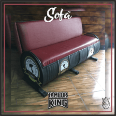King - Sofá: Barbearia Barbalhos (Barbearia - Tema Alternativo)