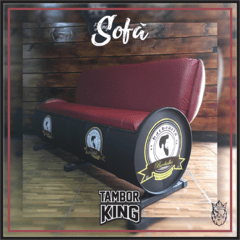 King - Sofá: Barbearia Barbalhos (Barbearia - Tema Alternativo) na internet
