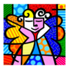 Miniprints Romero Britto Angel