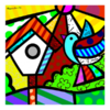 Miniprints Romero Britto Birds