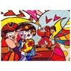 Digital Print Romero Britto Song Of Love - comprar online