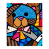 Miniprints Romero Britto My Bear - comprar online