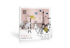 City Tour - Paris - Cuaderno para colorear + Stickers