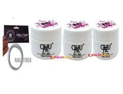 Gel Chujie Led Uv Para Unhas Gel Fibra  Acrygel 3x Gel