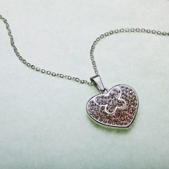 Colgante  HEART with BUTTERFLY - C3011 - comprar online