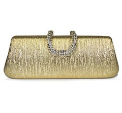 Clutch DIAMONDS - CAY501 DORADO - comprar online