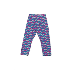 Calça Legging Estampada Flamingo
