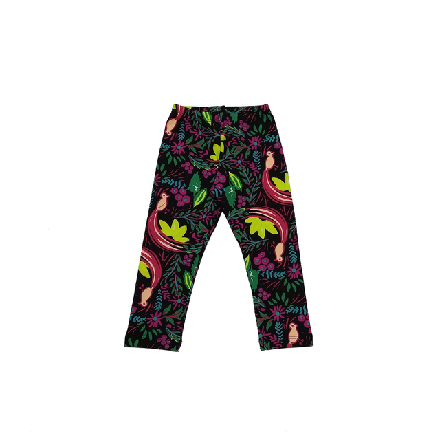 Calça Legging Estampada Tropical