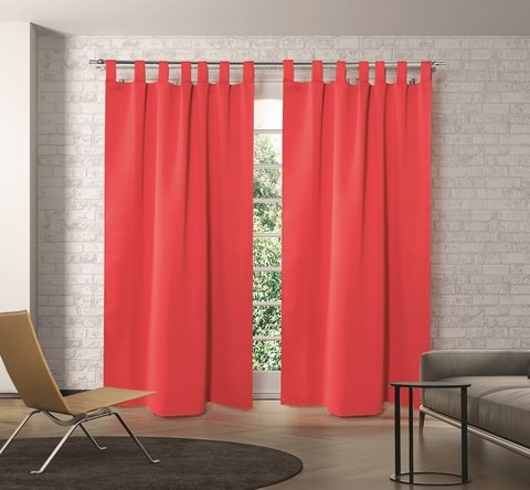 Cortinas BlackOut Madras   Textil - Sweet Home