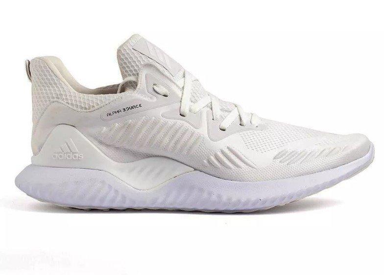 3dc3f08ad46 Tênis Adidas Alpha Bounce Beyond 2 Branco (Masculino)
