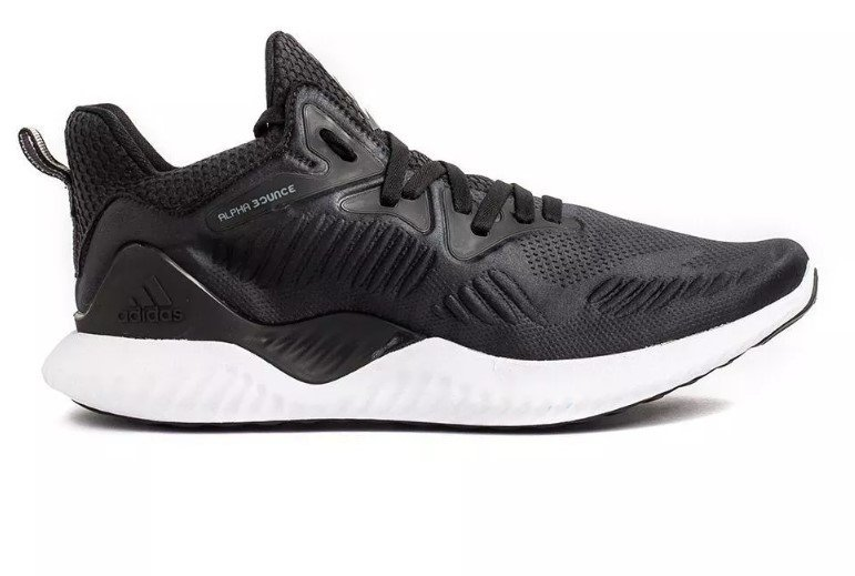 5fc2240cba5 Tênis Adidas Alpha Bounce Beyond 2 Preto C Branco (Masculino)